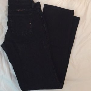 Wrangler boot cut black Q-baby fit jeans👖!